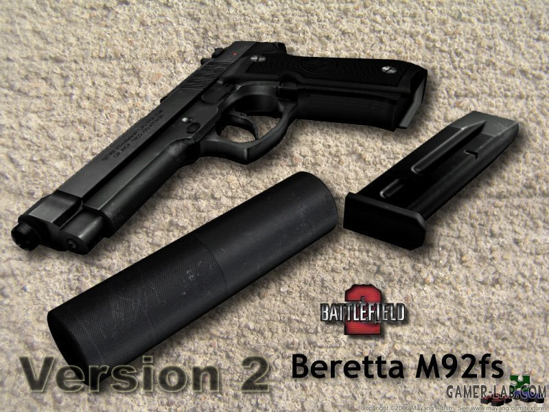 Battlefield 2 Beretta (version2)
