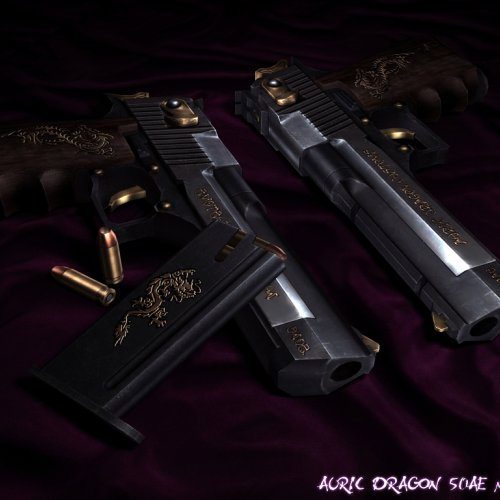 Auric Dragon - Desert Eagle .50AE