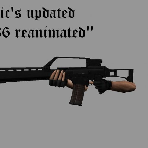 Rctic s updated g36 reanimated