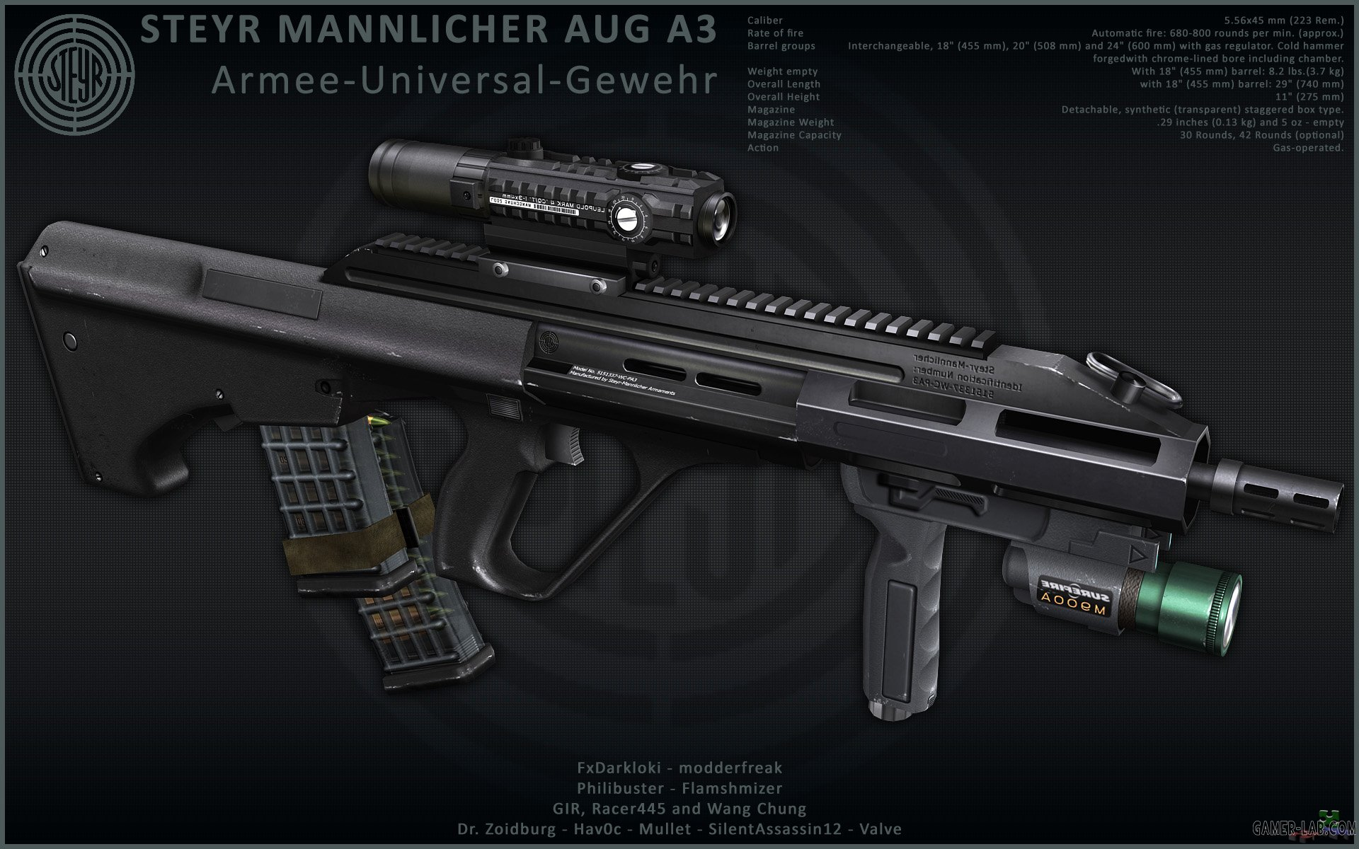 STEYR AUG A3 Pack