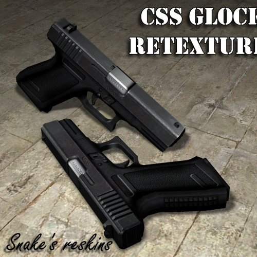 Default Glock 18 retextured