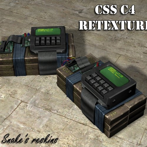 Default C4 retextured