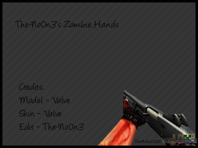 The-No0n3 s Zombie Hands