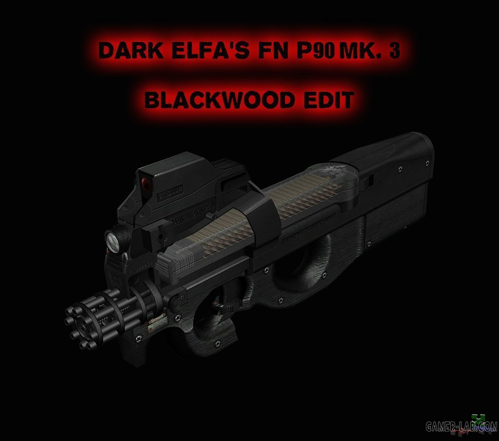DarkElfa's P90 Mk.3 Black Edit