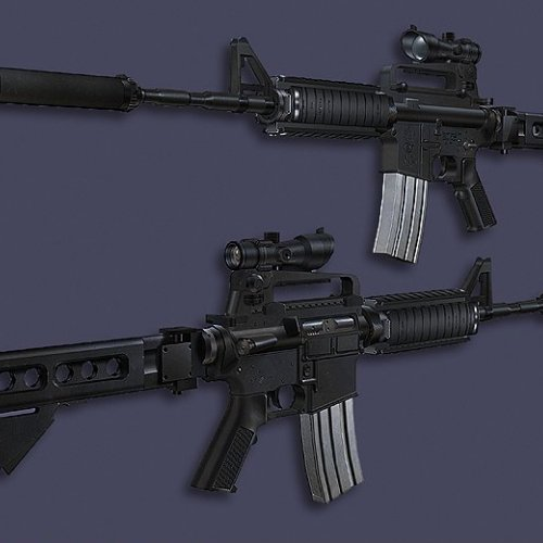 M4A1 Carbine SF-RIS