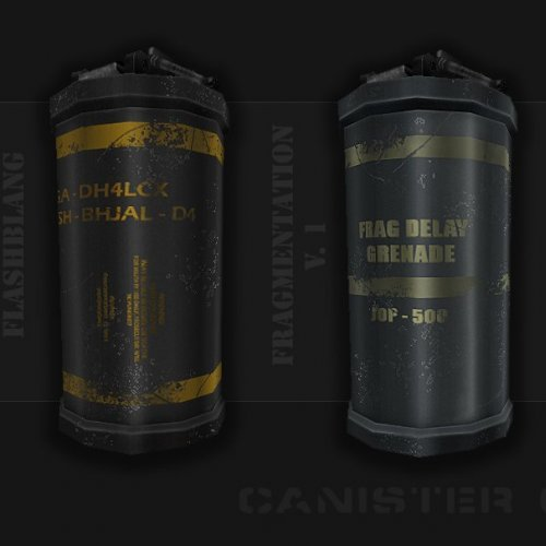 CZ Canister Grenade Pack