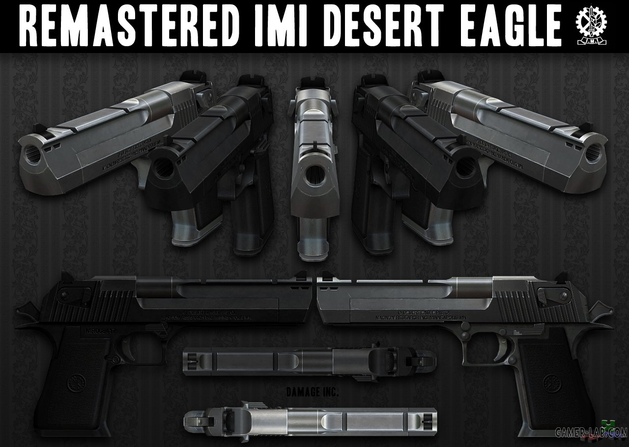 Remastered IMI Desert Eagle