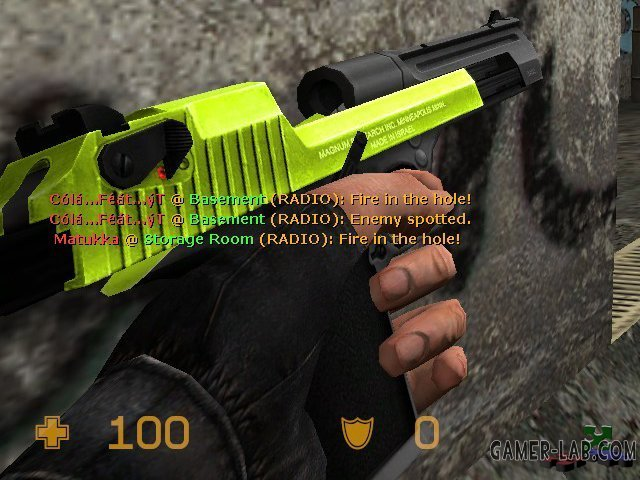 Lime+Black Deagle