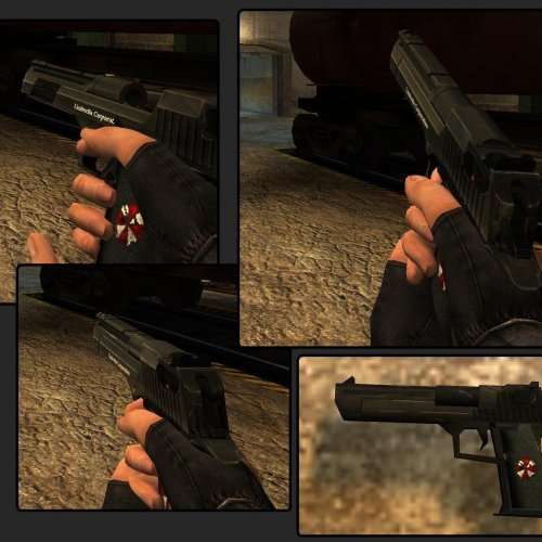 Umbrella Corp. Mk. 1 Desert Eagle