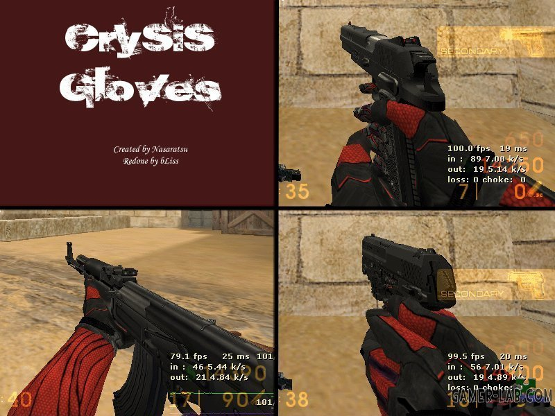 Crysis NanosuitGloves
