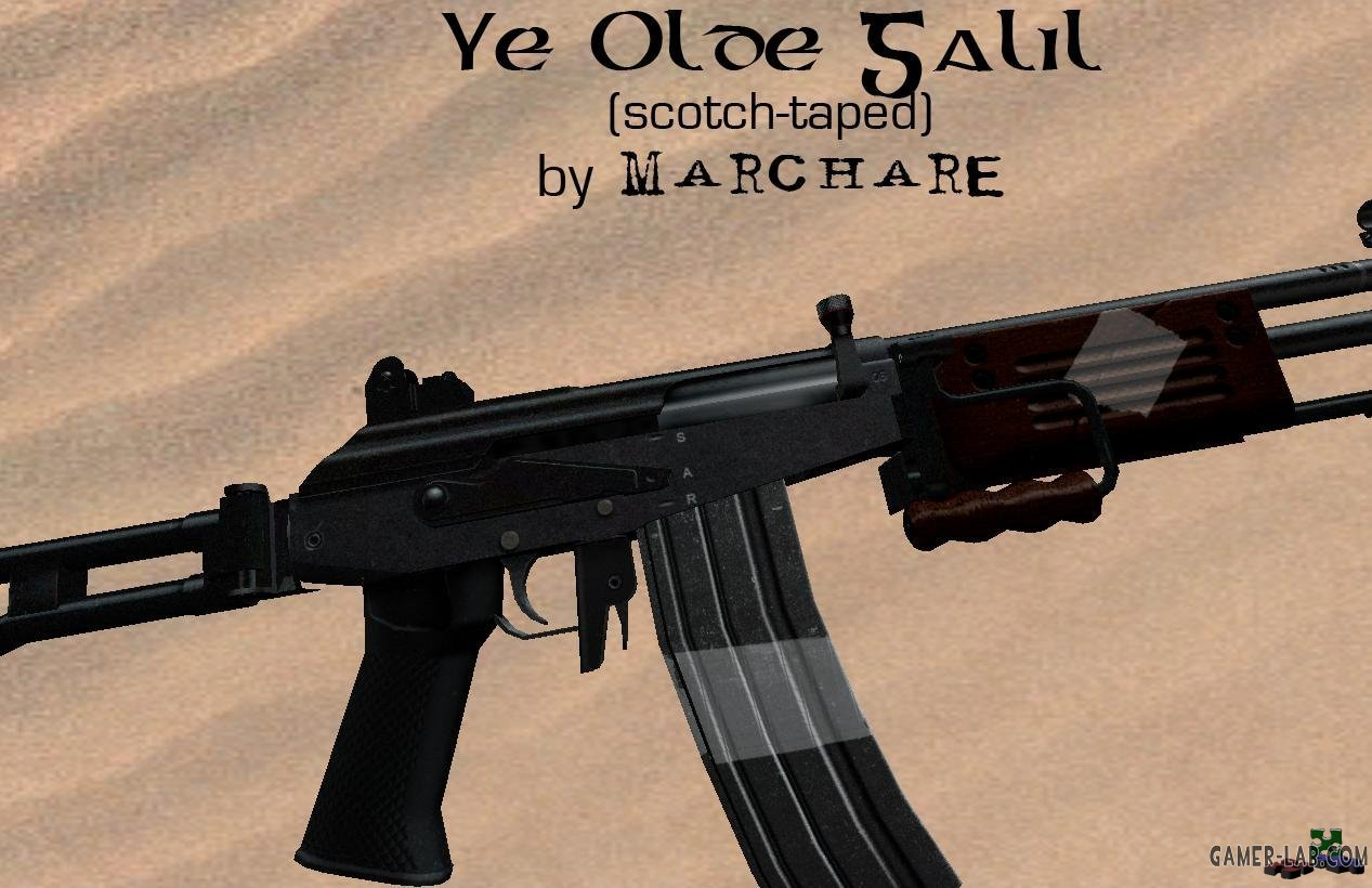 Ye Olde Galil (scotch-taped)