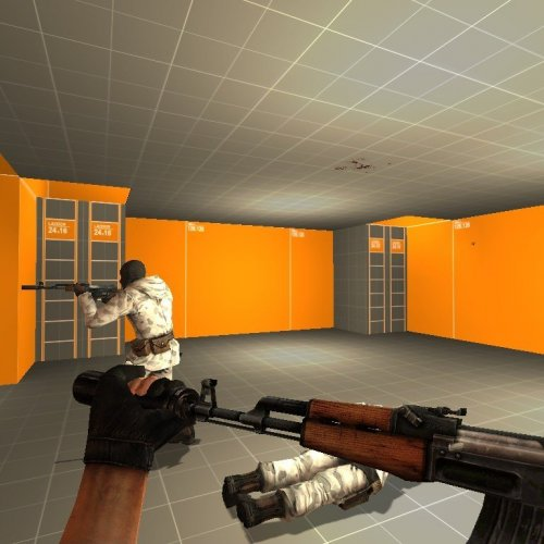 Ak_for_M4_Fixed_Silencer_