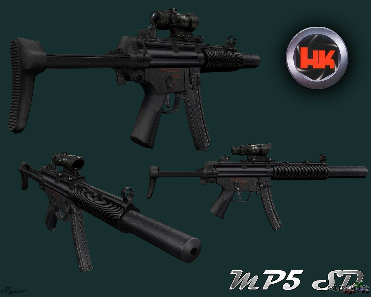 SpecOps HK MP5SD Tactical