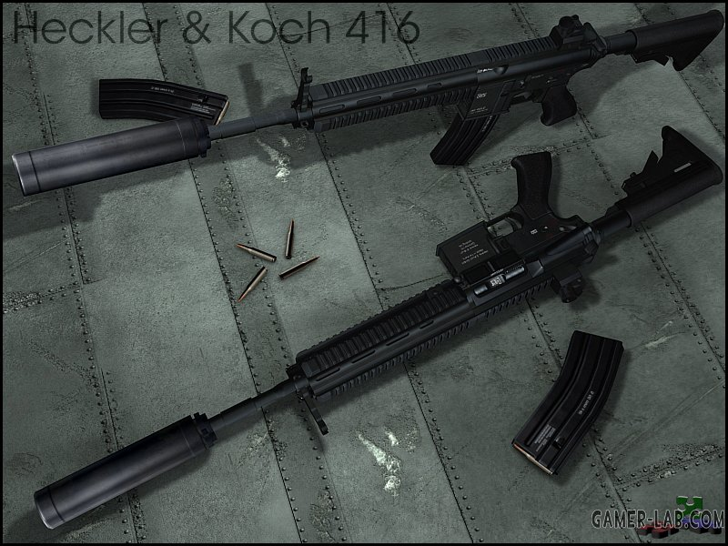Heckler and Koch 416 Redux