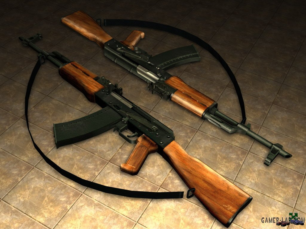 AK-47 with strap on Jen s anim