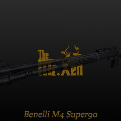 M4 Super 90 (On Real Anims)
