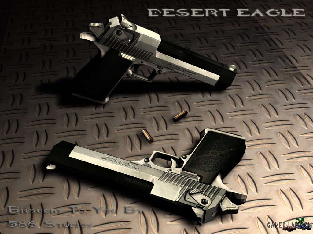 Two-Tone Desert Eagle