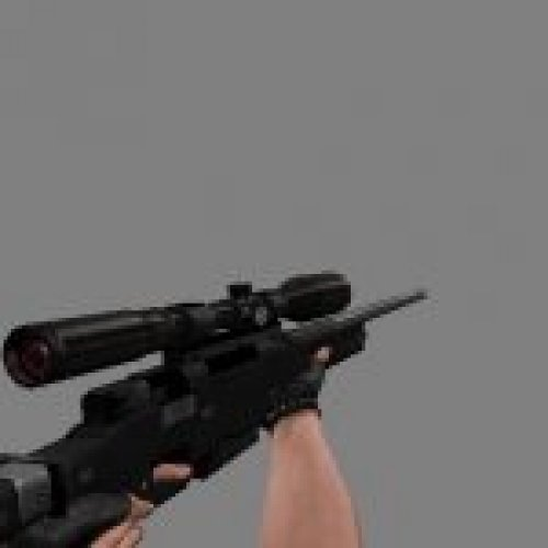 AWP with Red scope