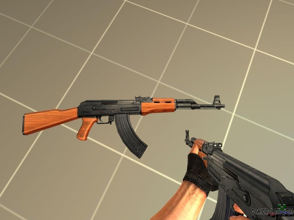 Модели AK-47 для Counter-Strike Source