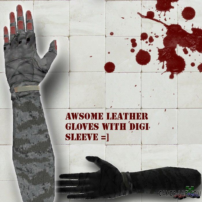 digisleve leather hands arm