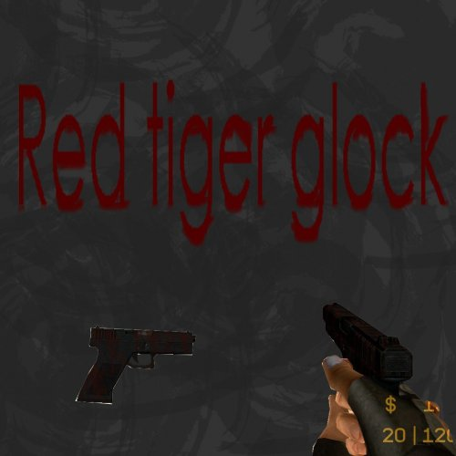 Red Tiger Glock