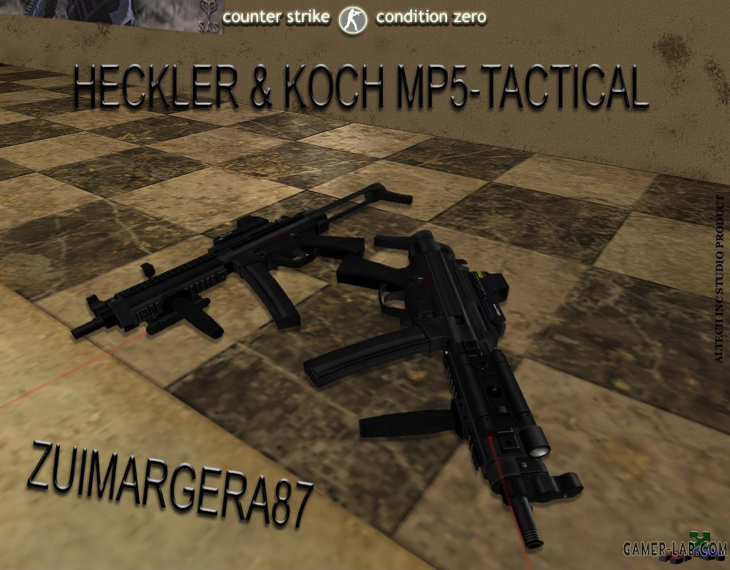 H K MP5-tactical