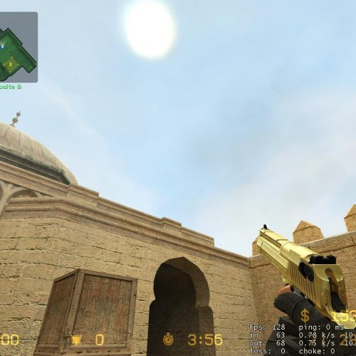 My First gold Deagle