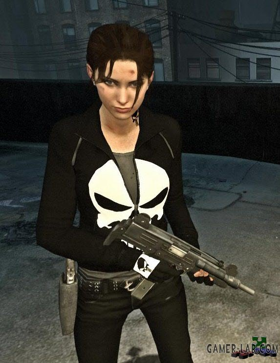 The Punisher Zoey