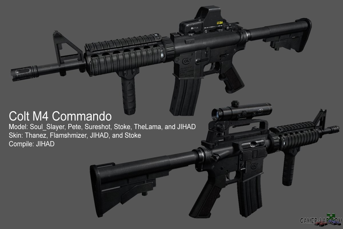 M4 Commando for Aug