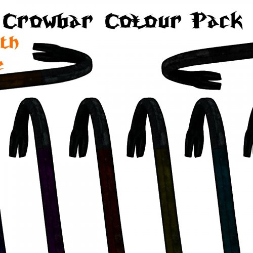 Realistic Crowbar (colour pack)