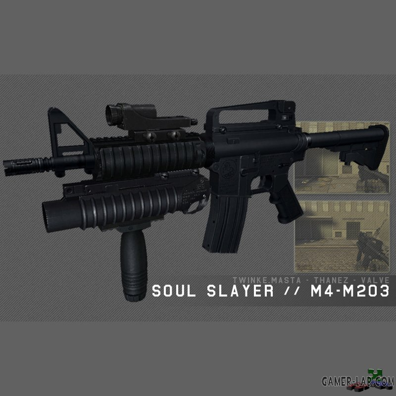 M4A1 Soul Slayer Assault Mini