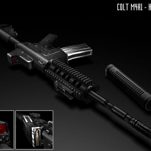 Colt M4A1 - Holosight