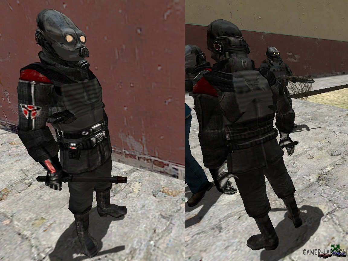 Armored Helghast Combine + ref Maps