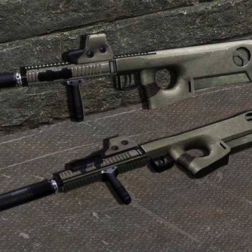 MRC - modular rifle caseless(FAMAS)