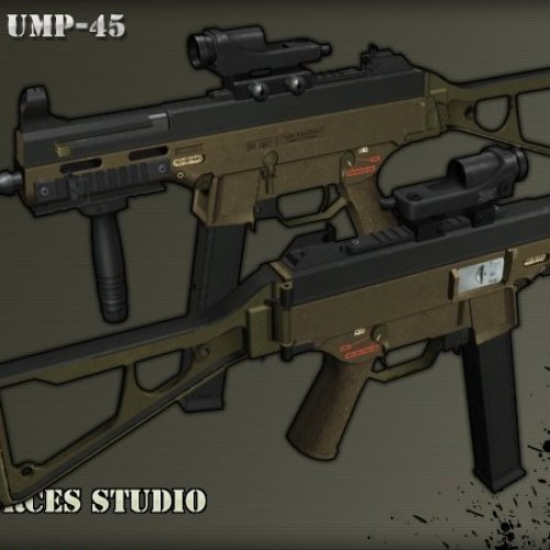Evil Mr. Lee s UMP 45 anims