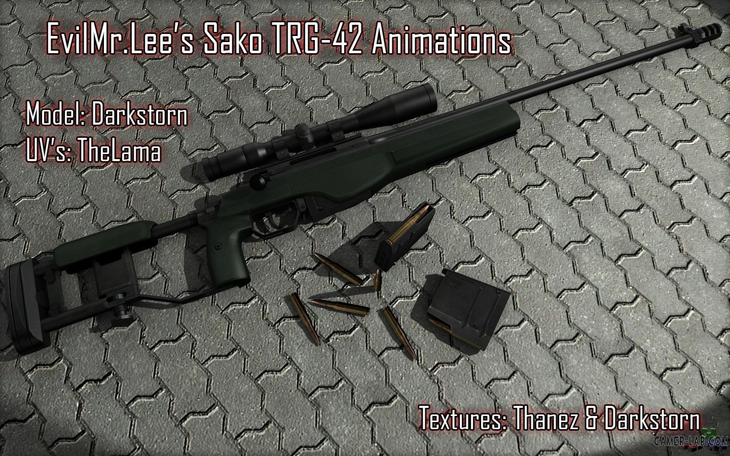 Sako TRG-42 Animations