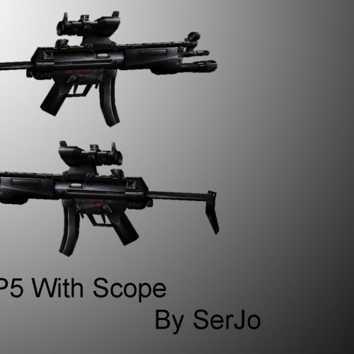 MP5 With Scope