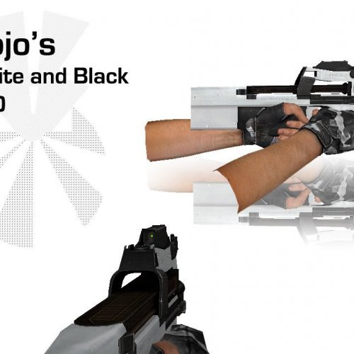 Hojo's White And Black P90
