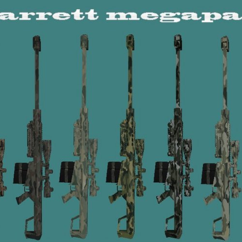 Fixed barrett megapack