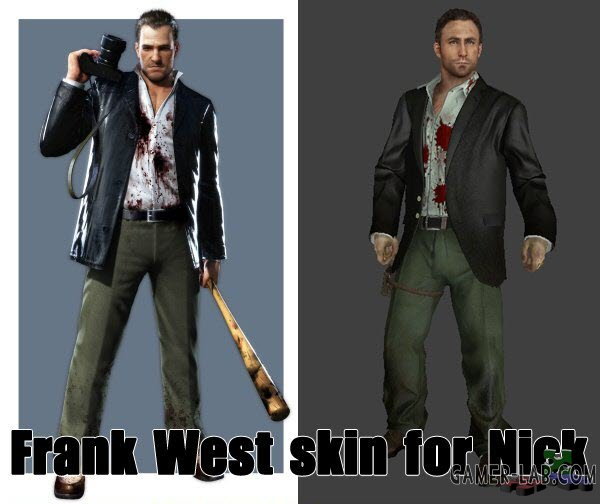 Frank West for Nick V3