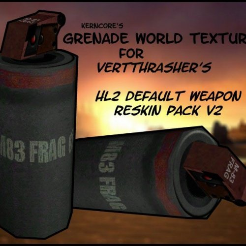 Grenade World Reskin Pack