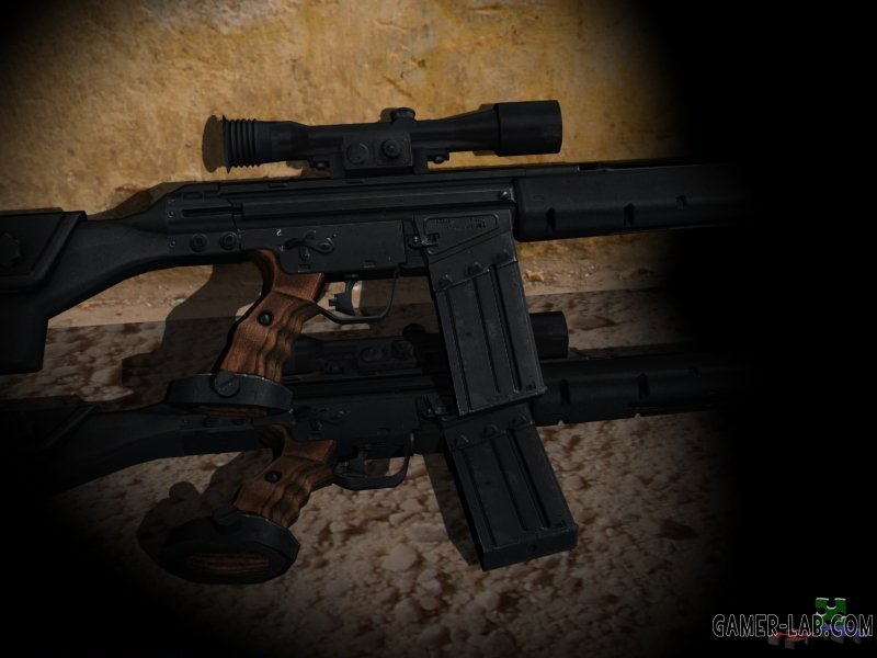 The L4D2 G3-SG1 Reanimation