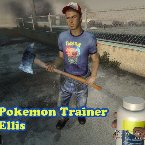 Pokemon Trainer Ellis