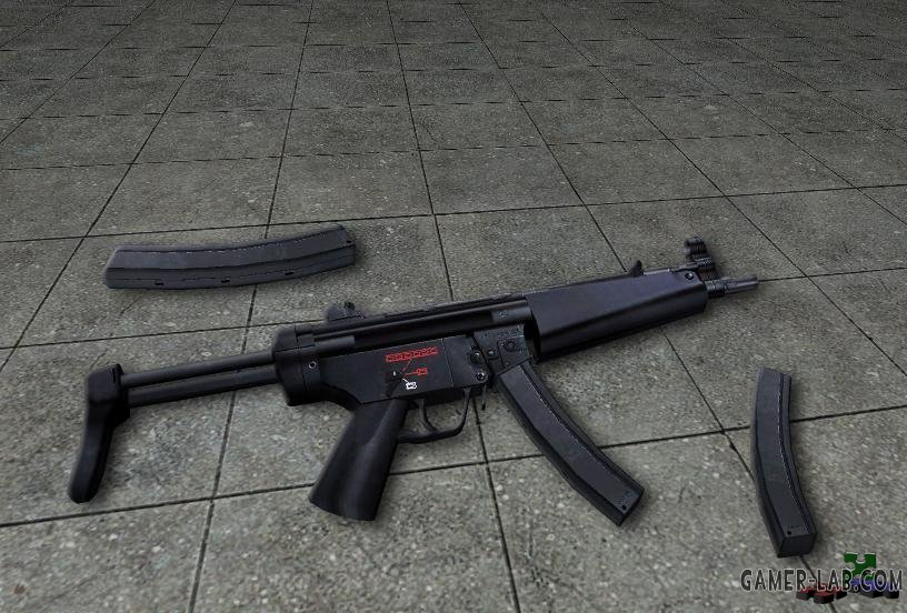 MP5 2 new anims