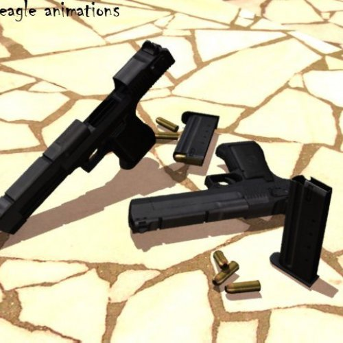 Desert eagle animations