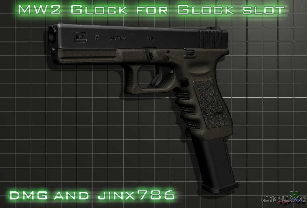 MW2 Glock for glock slot