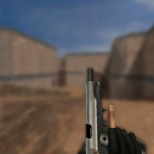 Silver KS Colt 1911 On Jenn s Anims