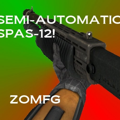 Semi-Automatic Shotgun!