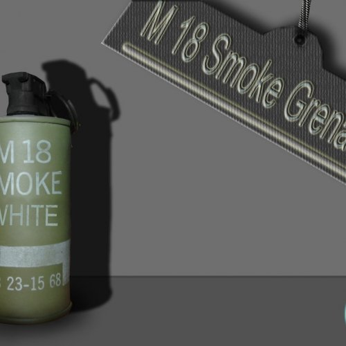 M18 SmokeGrenade By Gimy