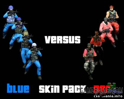 CSS Red & Blue Skin Pack